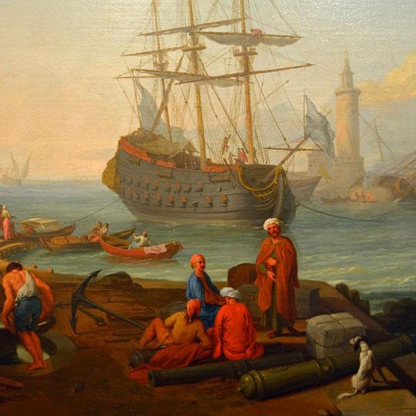 Manglard Adriaen, (Lione 1695 - Roma 1760),