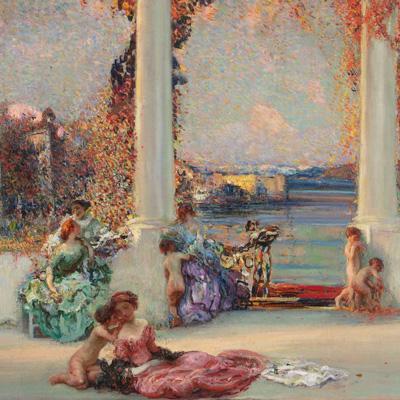 Andrea Tavernier (Torino 1858 - Grottaferrata 1932),